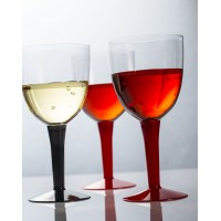 Disposable wine cup for catering