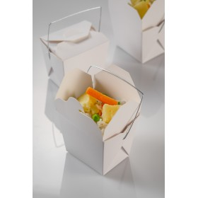 Disposable mini noodles box