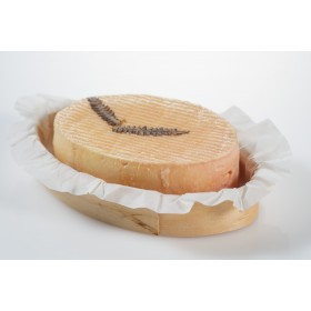 Wooden Oval Ring with baking paper Saigon 120x60x20 mm