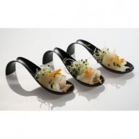 Disposable Lola spoon for catering