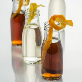 Mini glass bottle 70ml