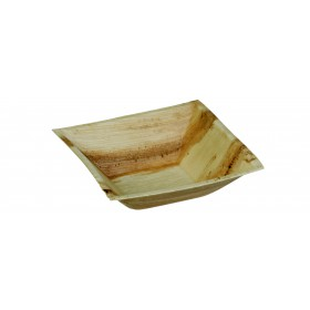 Palm leaf square plate Cheops