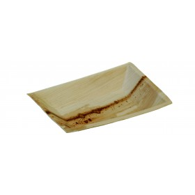 Rectangular palm leaf dish Cuadra
