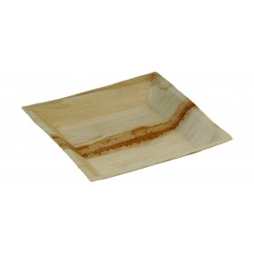 Palm leaf plate Cuadra 180x180 mm