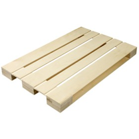 Wooden pallet for food 580x380x43 mm.