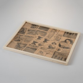 anti-grease paper vintage style 328x278 mm