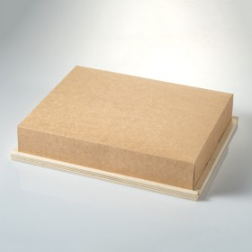 Wooden tray carton lid 1481