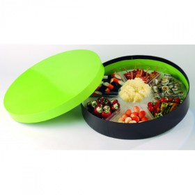 Plato Hexagonal para coffret Good Lunch Ø430