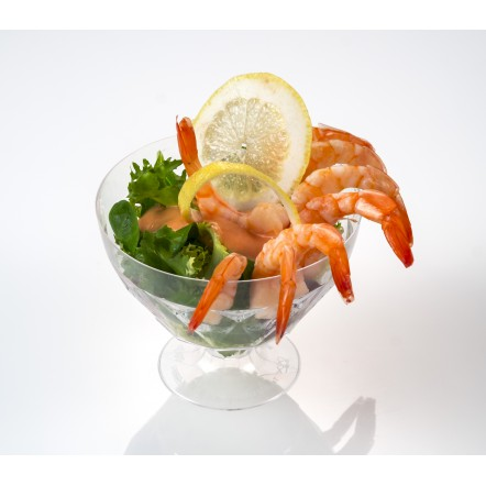 Plastic Elena cup 300 ml  ideal for desserts and shrimp cocktail