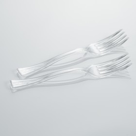 Mini fork for catering