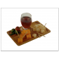 Bamboo Cocktail Plate